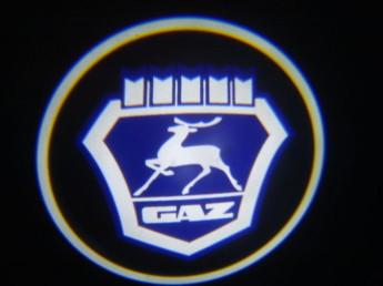 LED проекции GAZ 5е Поколение 7w blue