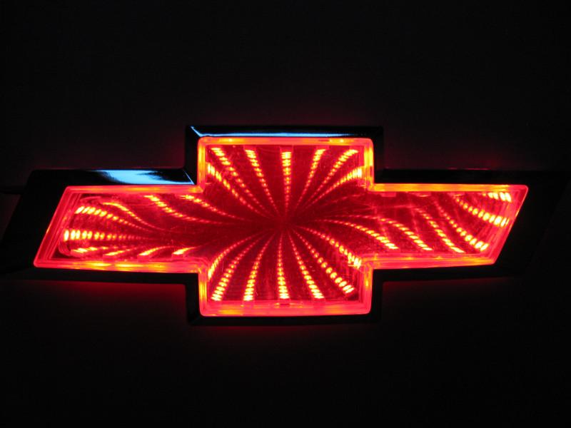 3D логотип Chevrolet