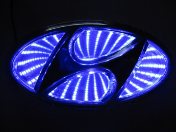 3D логотип Hyundai