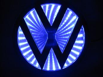 3D логотип Volkswagen