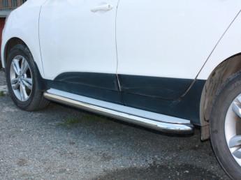 Пороги с площадкой D 60,3 Hyundai IX35