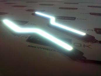 Новинка 2014 г. Ультра тонкие ходовые огни COB Z стайл