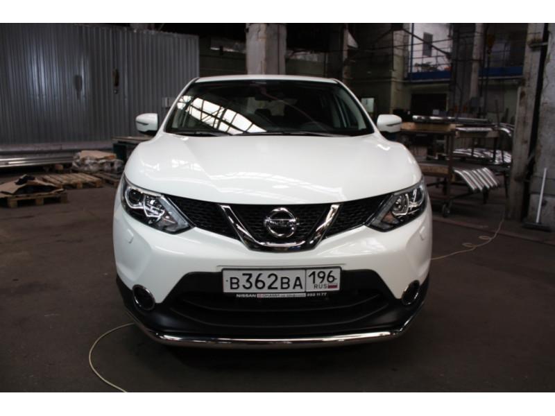 Защита передняя D 60,3 Nissan Qashqai 2014-