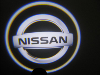 LED проекции Nissan silver  5е поколение 7w