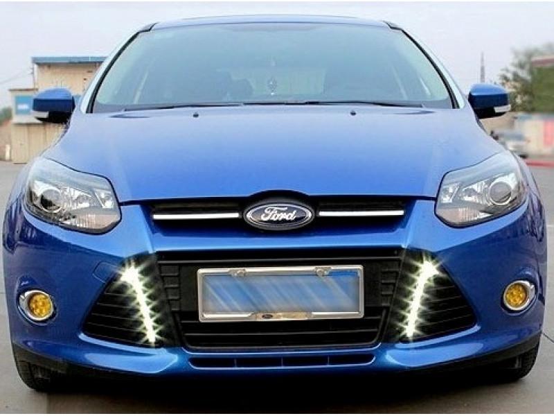 ДХО в Штатные места Ford Focus 3 2011-2014