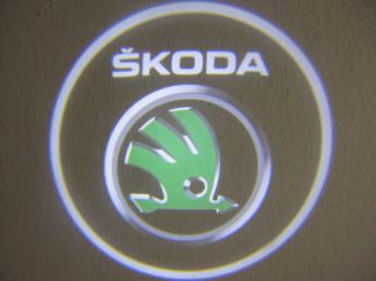 LED проекции Skoda 5е поколение 7w