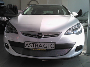Защита радиатора OPEL Astra J GTC 2012-2017