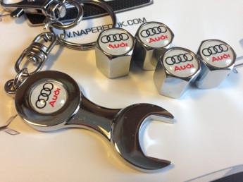 Колпачки на ниппель с логотипом AUDI
