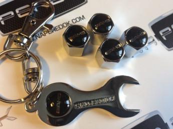 Колпачки на ниппель с логотипом AMG black