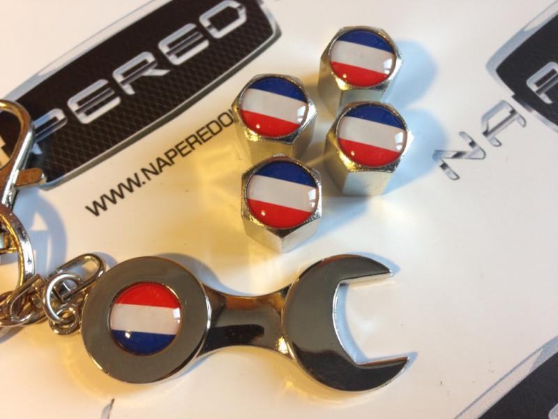 Колпачки на ниппель с логотипом FRANCE