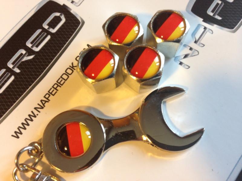 Колпачки на ниппель с логотипом GERMANY