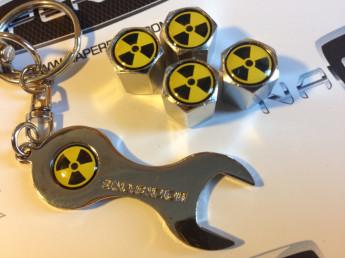 колпачки на ниппель с логотипом NUCLEAR
