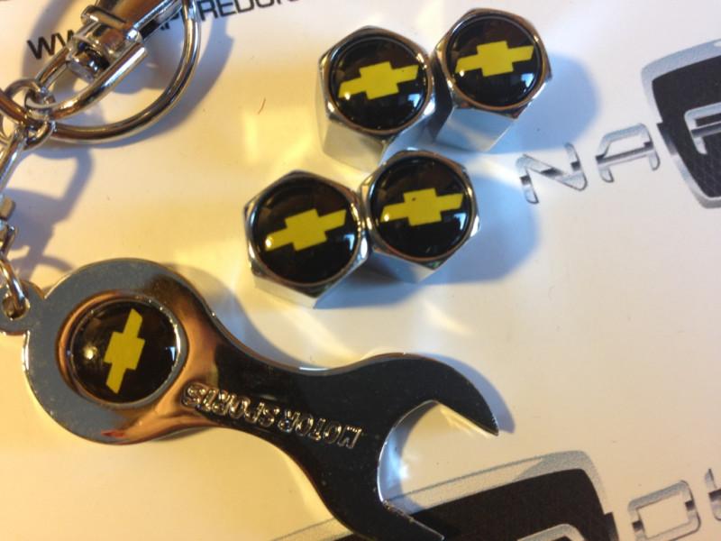 колпачки на ниппель с логотипом CHEVROLET