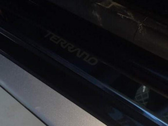 Накладки на пороги из стали NISSAN Terrano 2014-2021, 4шт.