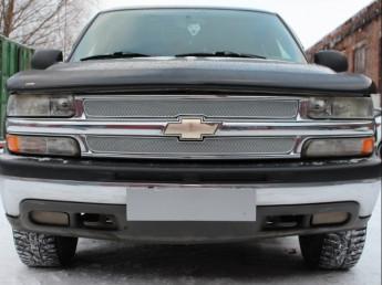 Защита радиатора ПРЕМИУМ Chevrolet Tahoe 2 1999-2007