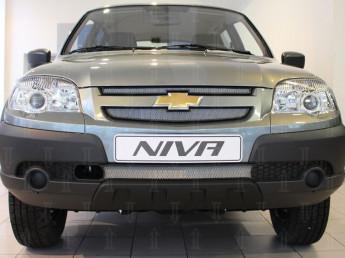 Защита радиатора CHEVROLET Niva 1 2009-2020 (рестайлинг)