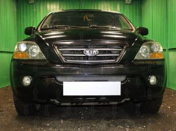 Защита радиатора KIA Sorento 2006-2009 (рестайлинг)