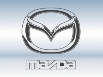 Защитная сетка радиатора Mazda