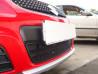Защита радиатора  SUZUKI SX4 hatchback 2011-2014 (рестайлинг)