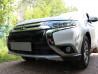 Защита радиатора Mitsubishi Outlander 3 2015 (рестайлинг) (4 шт)