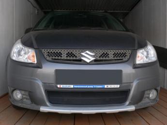 Защита радиатора SUZUKI SX4 hathback 2007-2010 (Япония)