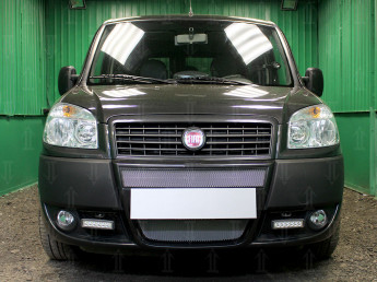 Защита радиатора FIAT Doblo 2005-2014 (рестайлинг)