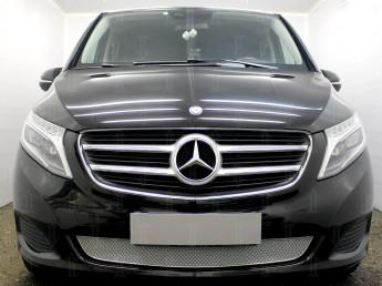 Защита радиатора ПРЕМИУМ Merсedes-Benz V-Klass 2 2014-2021
